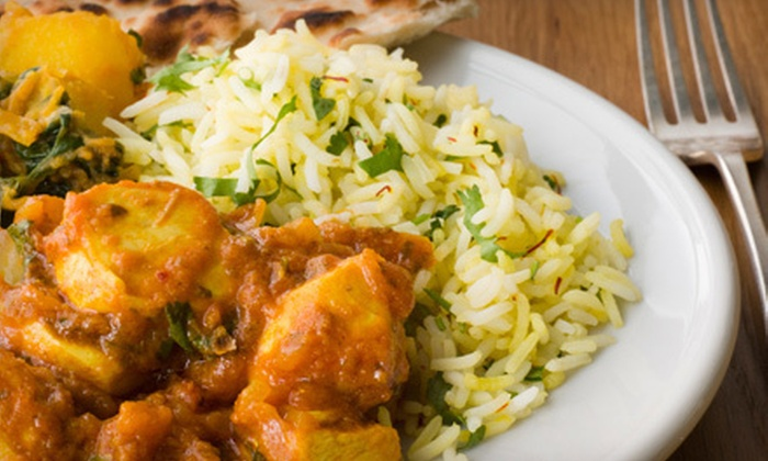 Nandhini - Plano: Indian Food at Nandhini (Half Off). Two Options Available.