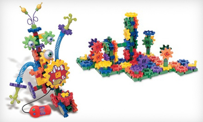 Learning Resources Kids' Building Sets: Learning Resources Gears! Gears! Gears! Building Sets (Up to 44% Off). Two Options Available.