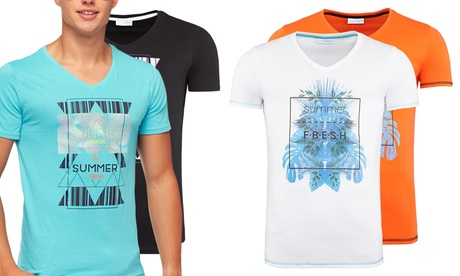 T-shirt Summer Fresh da uomo disponibile in 2 modelli e varie taglie