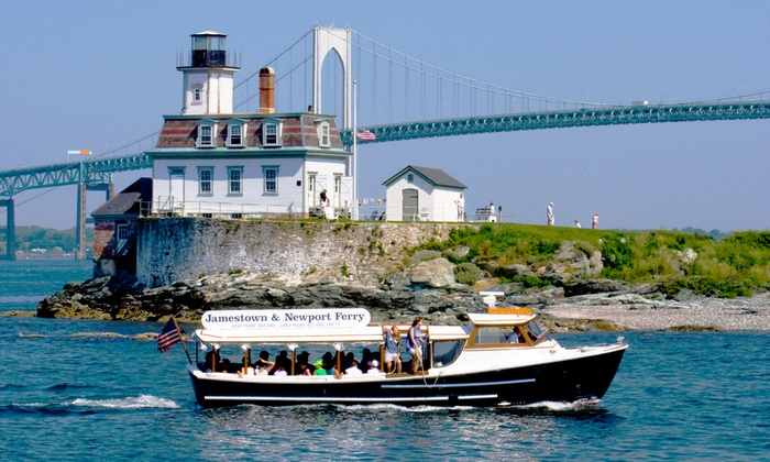Jamestown Newport Ferry - Jamestown Newport Ferry / Conanicut Marine Services, Inc: $52 for a Two-Hour Seal and Lighthouse Tour for Two at Jamestown Newport Ferry ($104 Value)