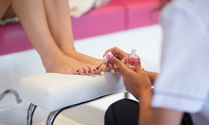Serenity: Gel Polish Pedicure, French Gel Manicure or Both at Serenity