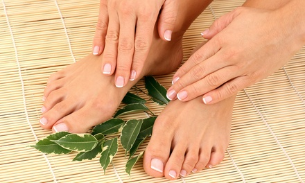 Medical-Grade Pedicure or Laser Treatment for Ten Fungal Nails at Caring Podiatry (Up to 71% Off)