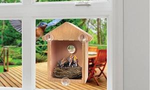 Nichoir à oiseaux pour fenêtre