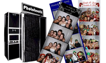$225 for a Three-Hour Photo-Booth Rental from Sound Storms Entertainment ($450 Value)