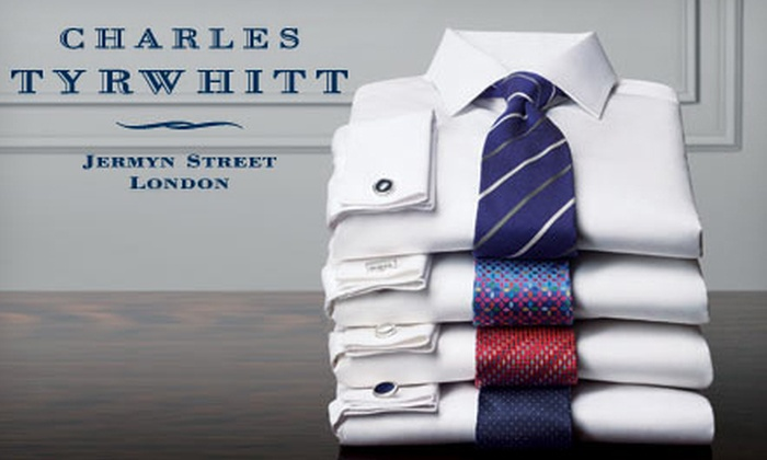 Charles Tyrwhitt: Dress Shirts and Menswear Accessories from Charles Tyrwhitt (Up to 51% Off). Two Options Available.