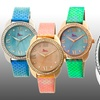 Boum Forte Women's Mother-of-Pearl and Leather Watch