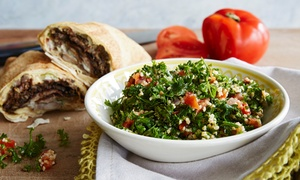 Austin's Habibi: Mediterranean Cuisine at Austin's Habibi (Up to 30% Off). Two Options Available.