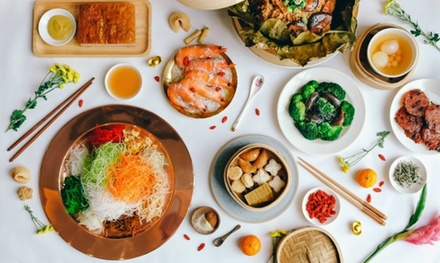 FourCourse Chinese Banquet with Wine for Two $49 or Four People $97 at Mei Ling Court Up to $154 Value