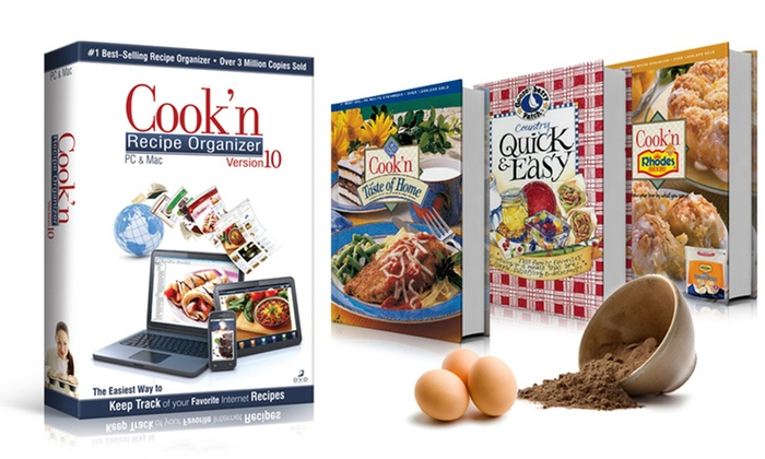 Cook'n Recipe Organizer: Recipe-Organizing Software with Option of $30 Worth of eCookbooks from Cook'n Recipe Organizer (Up to 75% Off)