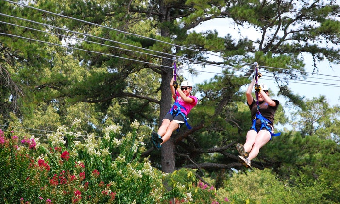 Zip Nac - Nacogdoches: Zipline Adventure for Two, Four, or Six at Zip Nac (Up to 34% Off)