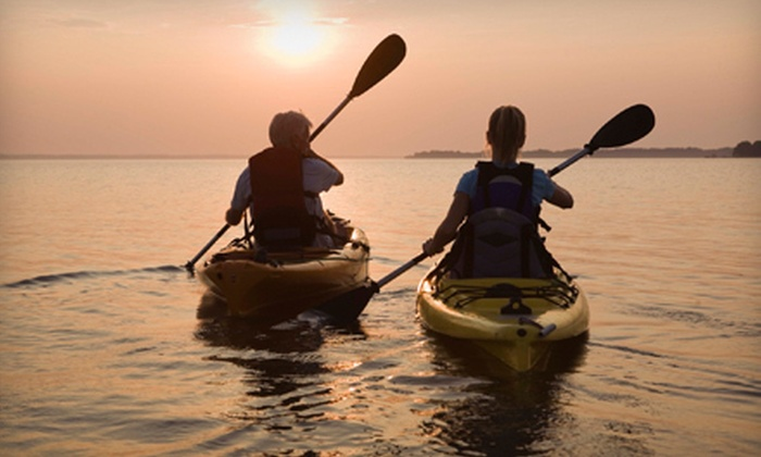 Worcester Kayak Rentals - Multiple Locations: Kayaking or Standup Paddleboarding for Two, Four, or Six from Worcester Kayak Rentals (Up to 59% Off)