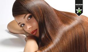Jewel: Hair styling con trattamento di ringiovanimento, taglio, piega, colore ed effetti a scelta tra shatush e graffiature