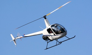 Old City Helicopters, LLC: $149 for a Bay and Downtown Tampa Helicopter Tour for Up to Three from Old City Helicopters, LLC ($270 Value)