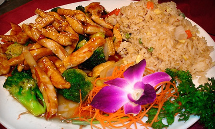 Red Bowl - Aiken: $10 for $20 Worth of Pan-Asian Cuisine for Dinner at Red Bowl