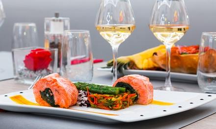 Formule Déjeuner du Jour avec entrée, plat, dessert pour 2 ou 4 personnes dès 24,90 € au restaurant lounge Le Loft