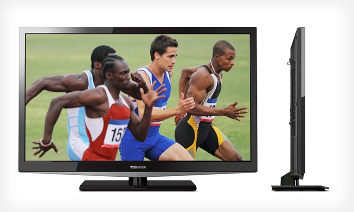 """Toshiba LED TVs: 19"""", 24"""", or 32"""" Toshiba LED TVs (Manufacturer Refurbished) (Up to 43% Off). Free Shipping and Returns."""