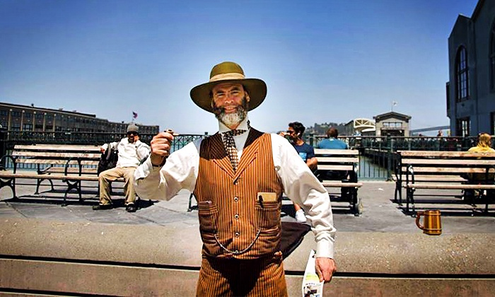 In the Footsteps Of Tours: Barbary Coast Walking Tour for Two, Four, or Six from In the Footsteps Of Tours (Up to 64% Off)