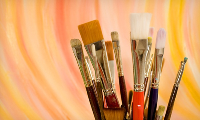 The CCE Painting Studio - Glen Park: One-Day, Three-Week, or Four-Week Creative-Painting Workshop at The CCE Painting Studio (Up to 51% Off)