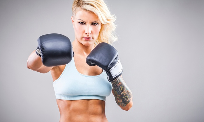 FightWorksNYC - Upper West Side: Three or Five 1-Hour Cardio Kickboxing Classes at FightWorksNYC (86% Off)