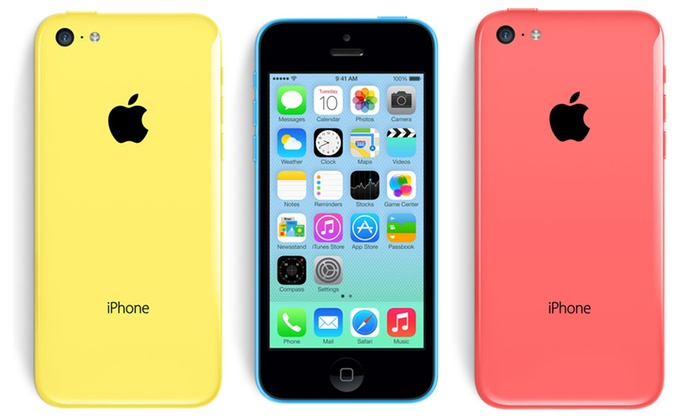 apple iphone 5c 8gb 32gb reconditionn groupon. Black Bedroom Furniture Sets. Home Design Ideas