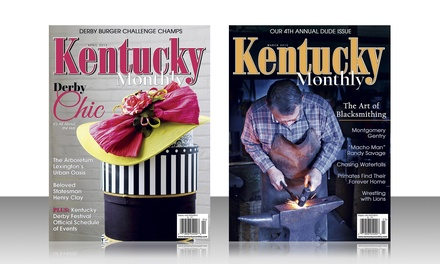 "$10 for a One-Year ""Kentucky Monthly"" Magazine Subscription (Up to $20 Value)"