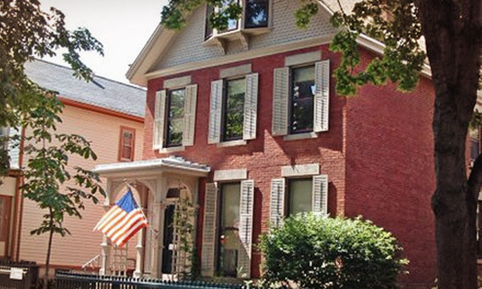 Susan B. Anthony Museum & House - B.E.S.T: Susan B. Anthony Museum & House Visit for Two or Four (Up to Half Off)