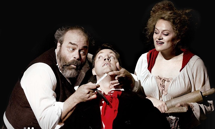 """Sweeney Todd: The Demon Barber of Fleet Street"" - Silva Concert Hall at The Hult Center for the Performing Arts: Eugene Opera Presents ""Sweeney Todd"" at Hult Center: Silva Concert Hall on March 13 or 15 (Up to 37% Off)"