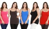 5-Pack of Women's Plus-Size Slimming Camisoles