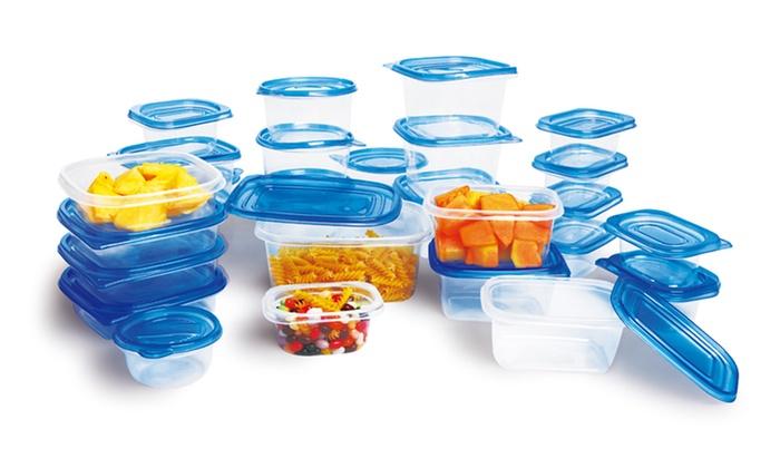 54-Piece Food-Storage Set: 54-Piece Food-Storage Set.
