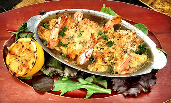 Longboards - West Palm Beach: $20 for $40 Worth of Fresh Seafood, American Food, and Drinks for Dinner for Two or More at Longboards