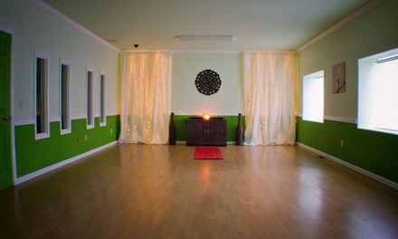 Four Weeks of Unlimited Yoga Classes at Soul Pursuit (71% Off)