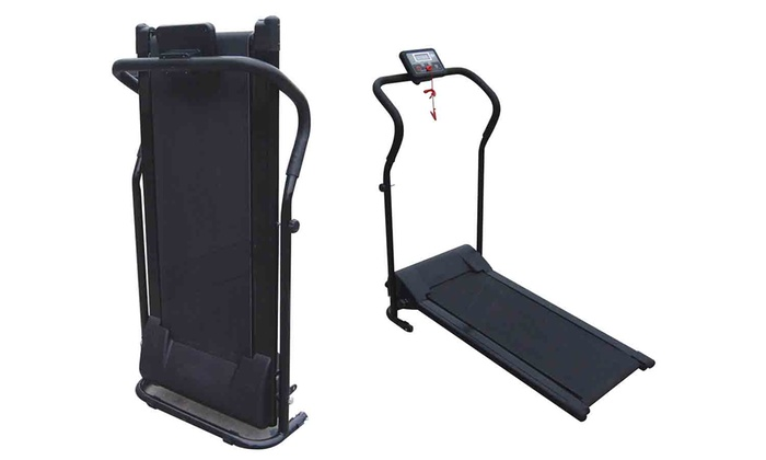 Tapis de course motoris pliable groupon - Tapis de course david douillet motorise ...