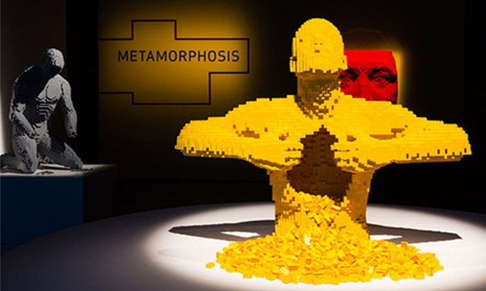 """""""The Art of the Brick"""" - Discovery Times Square: """"The Art of the Brick"""" at Discovery Times Square (Up to Half Off)"""