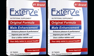 60-Servings of Extenze Original Male Enhancement Supplement