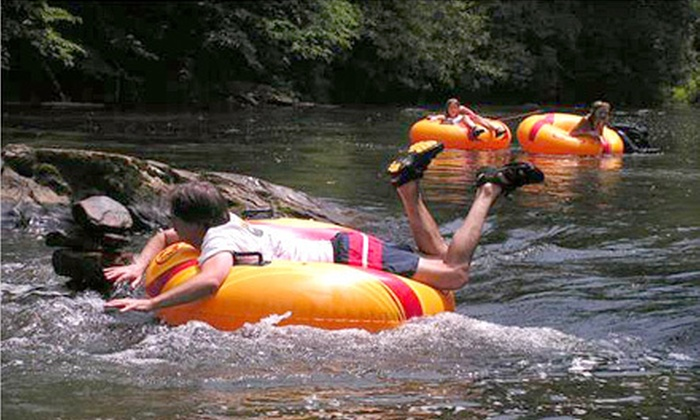 RiverGirl Fishing Company - Elk: Water Tubing at RiverGirl Fishing Company in Todd (Up to 53% Off). Three Options Available.