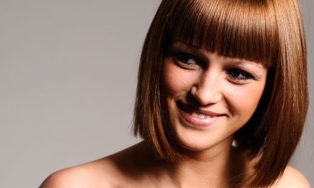 Cut and Conditioning Treatment with Optional Color or Highlights from Angela Wilbanks at Image Salon (Up to 50% Off)