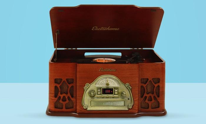 Electrohome Wellington 4-in-1 Nostalgia Turntable Stereo System: $109.99 for an Electrohome Wellington 4-in-1 Turntable Stereo System ($179.99 List Price). Free Shipping and Returns.