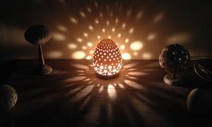 רונן קימל: סדנה להכנת גוף תאורה מפורצלן בסטודיו של האמן הרב תחומי רונן קימל, לאחריה ניתן לקחת הביתה את היצירה, ב-139 ₪ בלבד