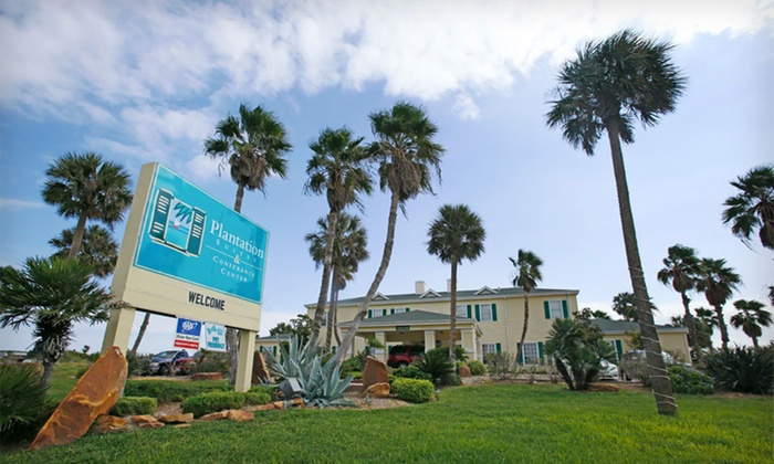 Plantation Suites & Conference Center - Port Aransas, TX: One- or Two-Night Stay at Plantation Suites & Conference Center in Port Aransas, TX. Kids Under 18 Stay Free.