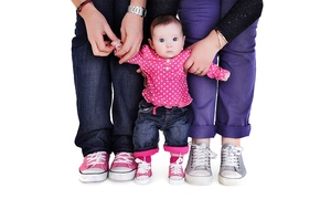 Evolve Portraits: Family  Photoshoot With Mounted Print or Digital Image for £19 at Evolve Portraits