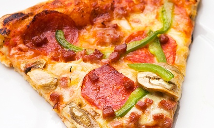 $11for $20 Worth of Pizza and Drinks at Stevi B's Pizza Buffet