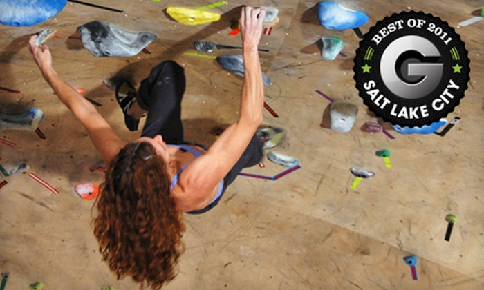 The Front Climbing Club  - Multiple Locations: Month Climbing Membership, After-School Program, or Five-Day Summer Camp at The Front Climbing Club (Up to 63% Off)