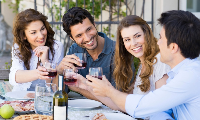 DelFosse Vineyards and Winery - VA: Lunch for Two, Four, or Six with Souvenir Wine Glasses at DelFosse Vineyards and Winery (Up to 55% Off)