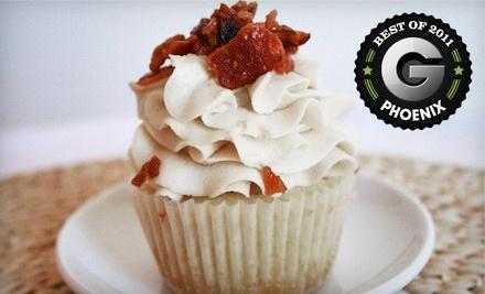 $12 Groupon - Top It Cupcakes in Gilbert