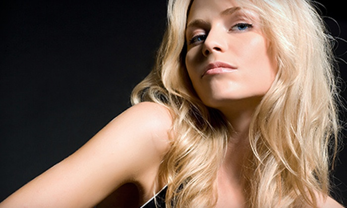 Salon N Vogue with Julie - Antioch Acres: Haircut with Option of Partial Highlights or Color Service at Salon N Vogue with Julie (Up to 61% Off)