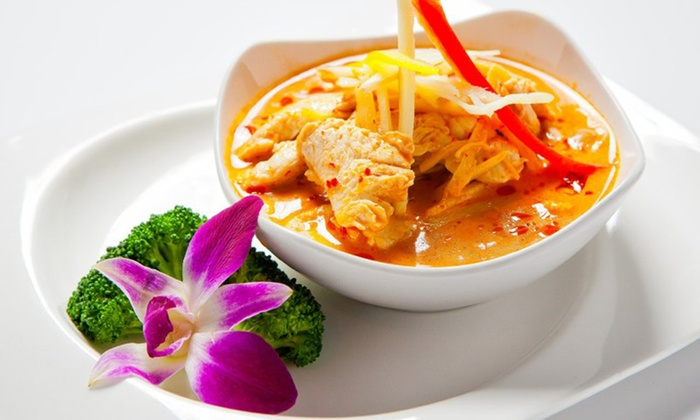 Orchid Thai & Sushi - Green Hills: $17 for $25 Worth of Thai Food and Sushi at Orchid Thai & Sushi