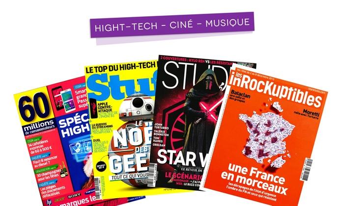Abonnement Magazines Viapresse Groupon