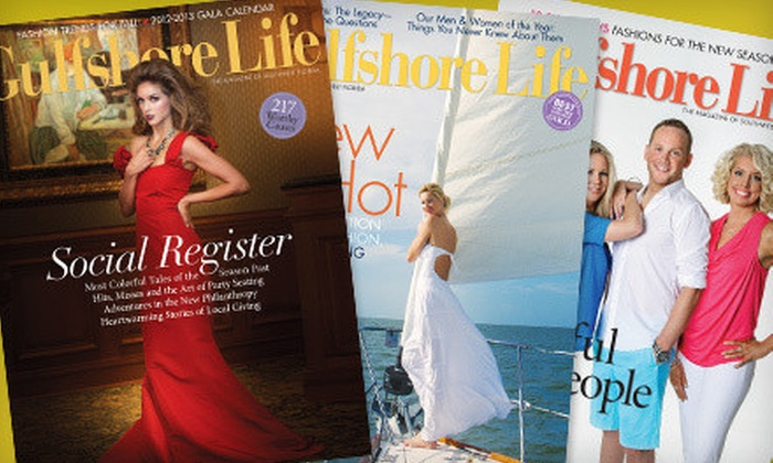 """""""Gulfshore Life"""" - Old Naples: One- or Two-Year Subscription to """"Gulfshore Life"""" (Up to 53% Off)"""