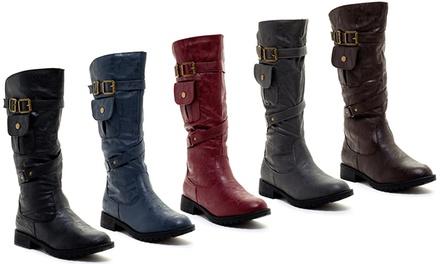 Carrini Women's Pocket Boots