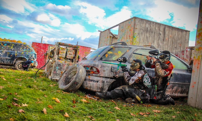 OSG Paintball - Barnstead: All-Day Paintball Package for Two, Four, or Six at OSG Paintball (Up to 61% Off)